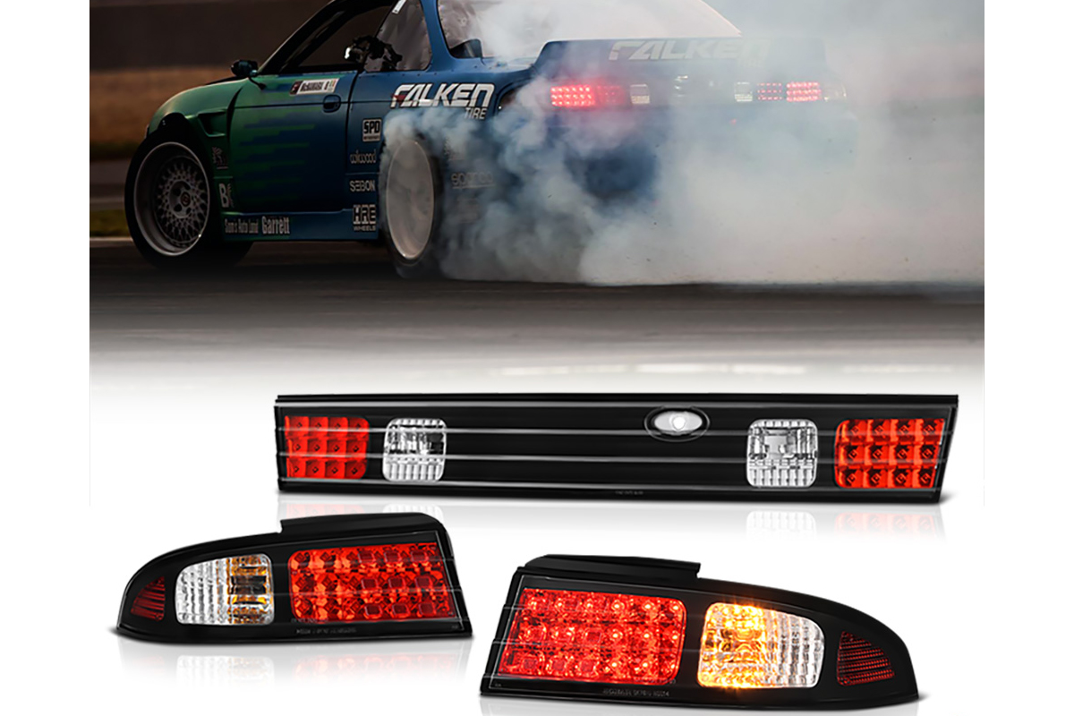 Nissan 240SX Lighting Upgrades